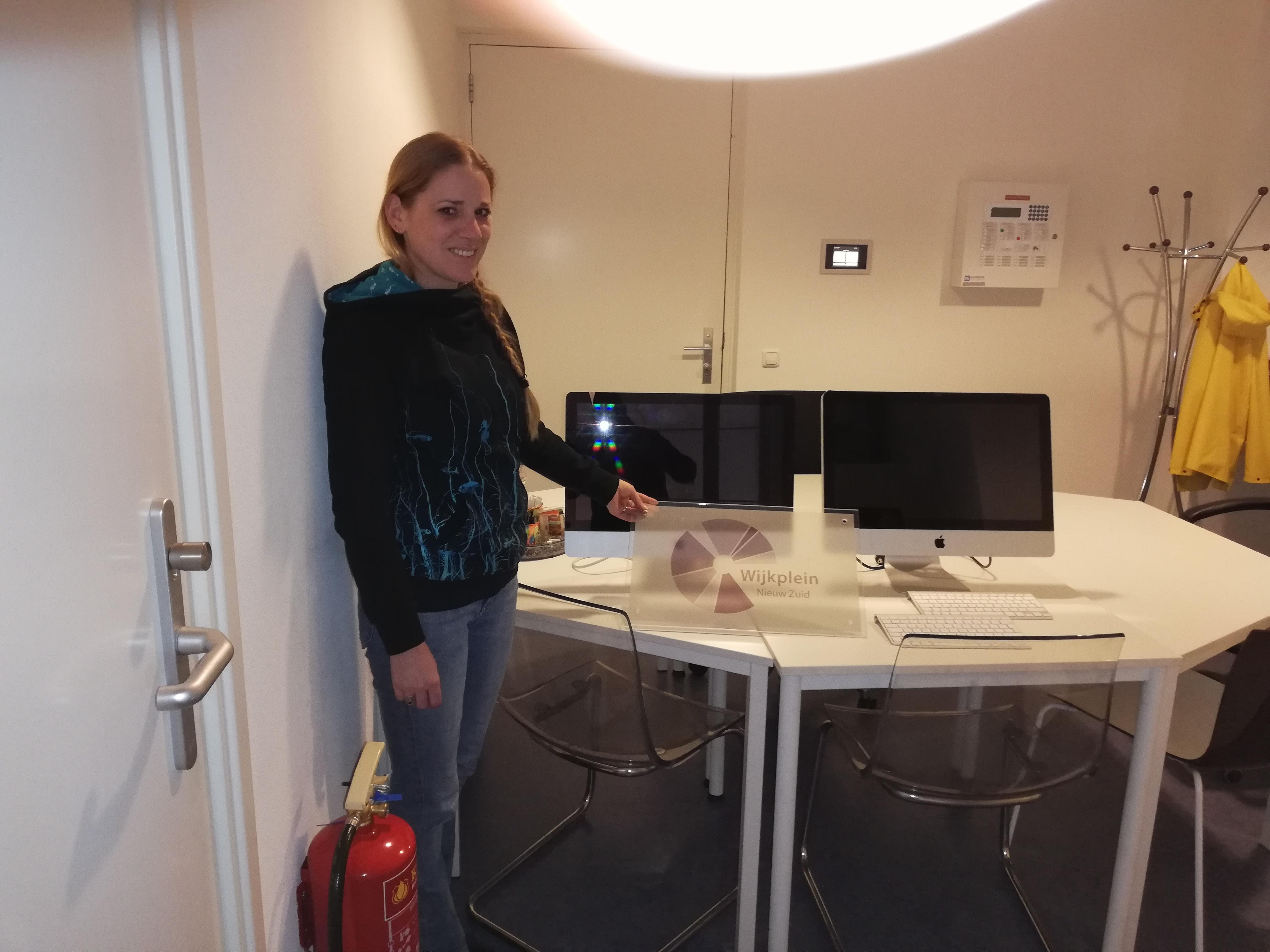 Donatie computers Wijkplein Nieuw Zuid